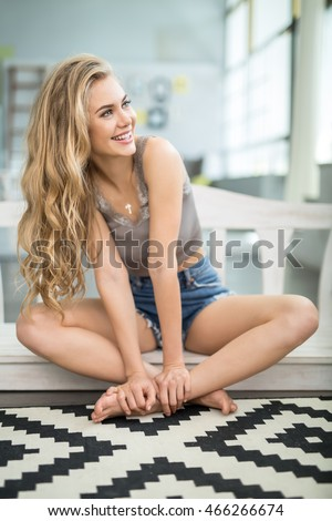 Girls With Crossed Legs