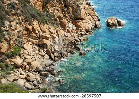 Beautiful bay - stock photo