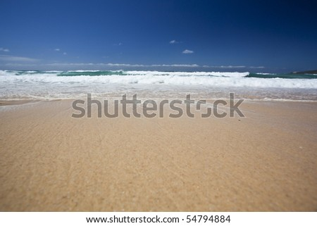 beautiful beach australia