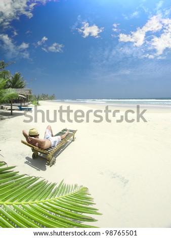 Beautiful Beachside. - stock photo