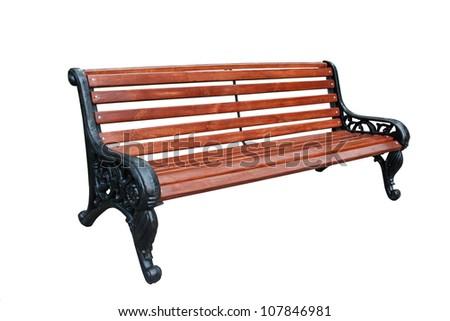 Beautiful bench - stock photo