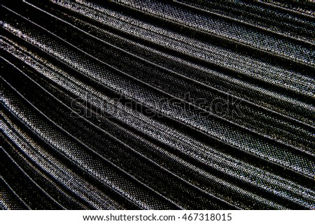 Beautiful Black Fabric Seamless Pattern Background With Light For Design,Closeup