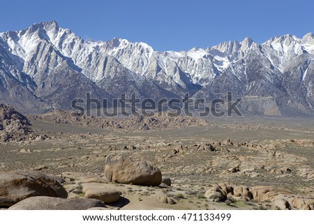 Beautiful BLM lands in Alabama Hills, California