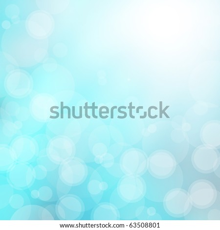beautiful blue background - stock photo