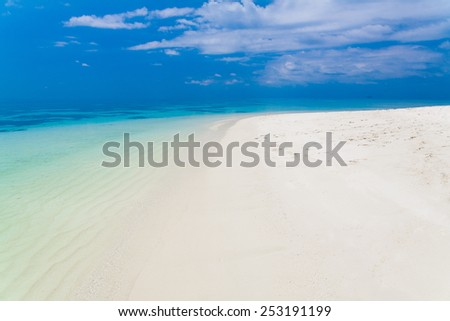 beautiful blue  sea tropical  background holiday   luxury  resort about coral reef maldives atoll island amazing  fresh  freedom snorkel adventure - stock photo