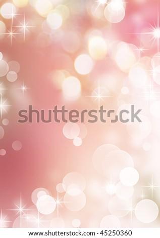 Beautiful Bokeh - stock photo