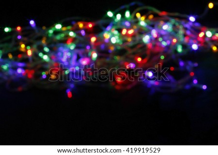 Beautiful bokeh for design work,Abstract Light Bokeh Background.