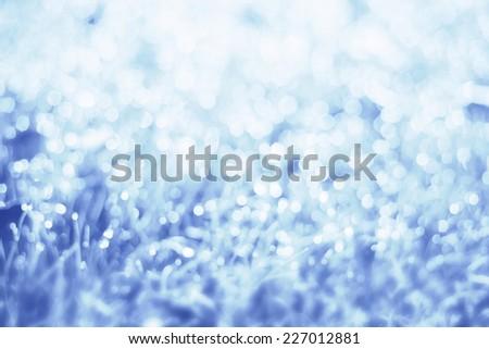 Beautiful bokeh lights abstract background - stock photo