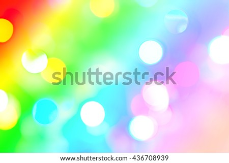 beautiful bokeh lights for background.  - stock photo