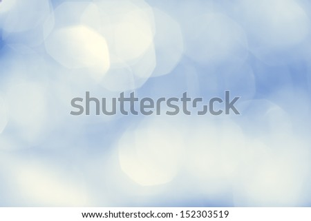 Beautiful boker ights on the blue background - stock photo