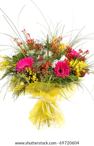 beautiful bouquet - stock photo