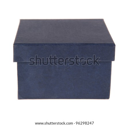 beautiful box on a white background