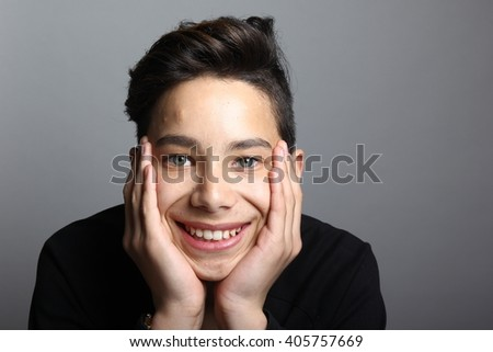 Beautiful boy - stock photo