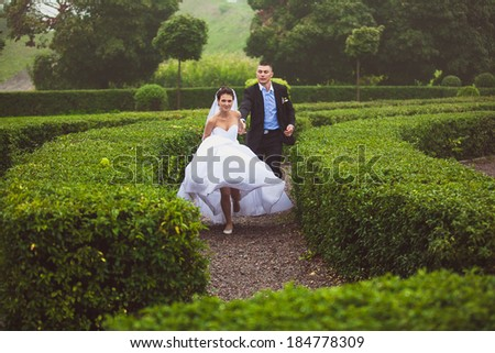 Pleasing Garden Maze Stock Photos  People Images  Shutterstock With Glamorous Beautiful Bride And Groom Running At Garden Maze With Comely Wide Garden Gate Also Trivoli Gardens In Addition Tropic Gardens Santa Eulalia And Hatton Garden Jewellers Online As Well As Ft Garden Gate Additionally Simple Garden Design Ideas From Shutterstockcom With   Glamorous Garden Maze Stock Photos  People Images  Shutterstock With Comely Beautiful Bride And Groom Running At Garden Maze And Pleasing Wide Garden Gate Also Trivoli Gardens In Addition Tropic Gardens Santa Eulalia From Shutterstockcom