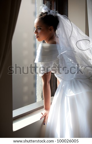 http://thumb7.shutterstock.com/display_pic_with_logo/757423/100026005/stock-photo-beautiful-bride-looking-out-a-window-100026005.jpg