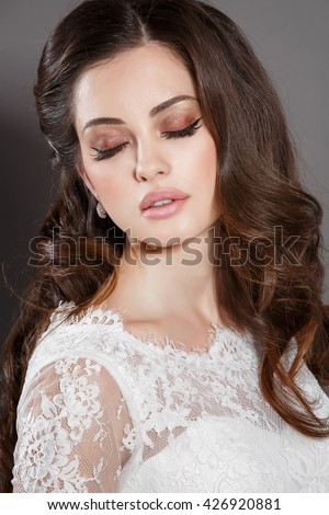 Indian Bridal Hairstyles Stock Images, Royalty-Free Images ...