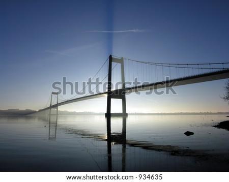 Beautiful Bridge - stock photo