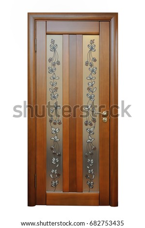Beautiful Beautiful Brown Door For Room Inside The House