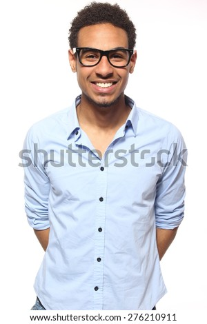 Beautiful business man - stock photo