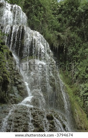 Beautiful cascade in Spain