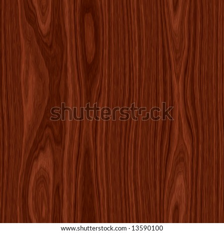 Beautiful cherry wood with visible knots - seamless texture - stock photo