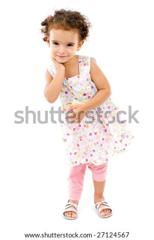 Beautiful Child as Young Photo Model .