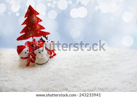Beautiful Christmas background  - stock photo