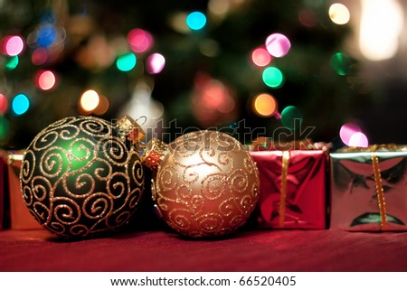 Beautiful Christmas ornaments and gifts