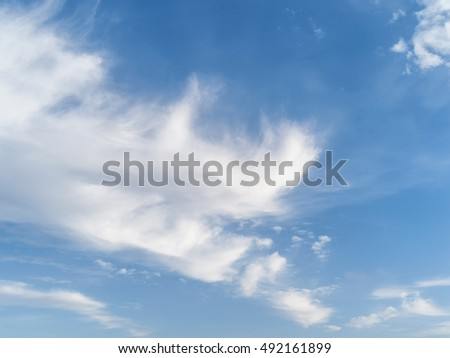 Beautiful clouds and sky