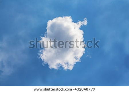 Beautiful Clouds with blue sky