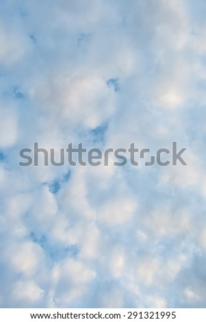 beautiful cloudy sky