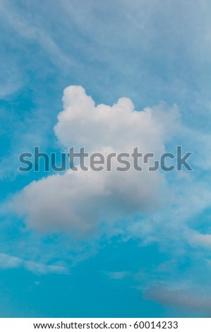 Beautiful Cloudy Sky - stock photo