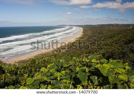 Beautiful Coastline - stock photo
