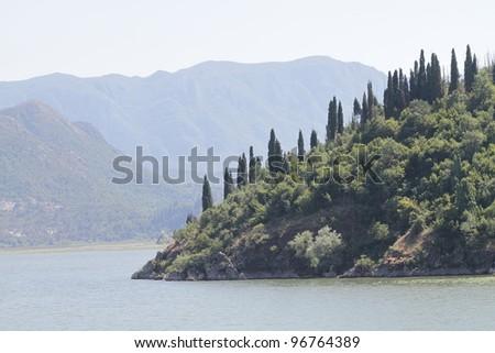 beautiful Coastline in Montenegro - stock photo