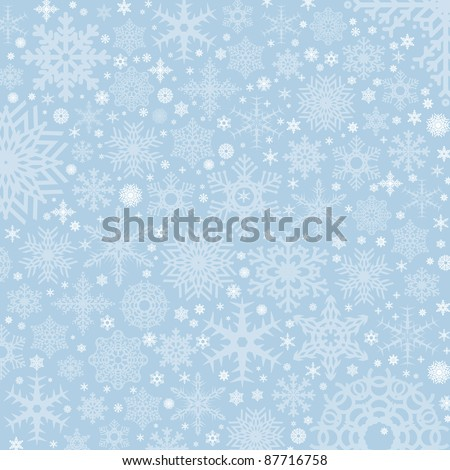 beautiful color high-res illustration with a holiday winter subject - stock photo