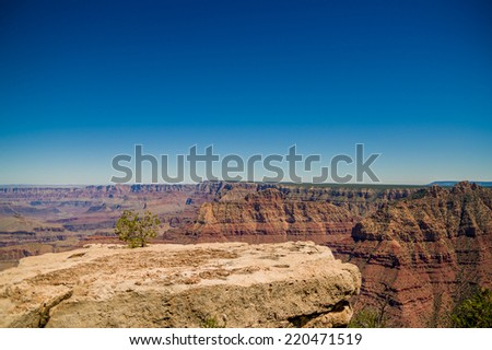 beautiful colorful landscape grand canyon national park arizona - stock photo