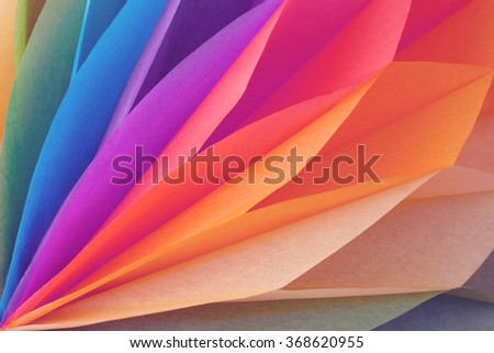 Beautiful colorful paper background - stock photo