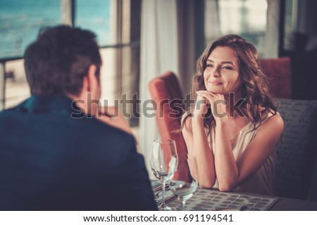 [fb] les angélus // jola&monsiame Stock-photo-beautiful-couple-in-a-restaurant-691194541