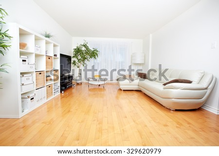 Beautiful cozy modern apartment. Real estate concept. - stock photo