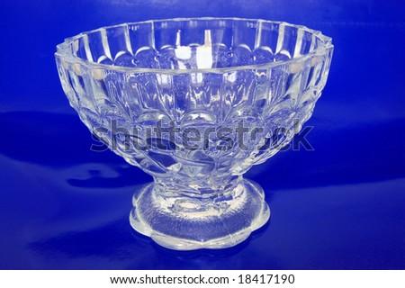 Beautiful Crystal Vase - stock photo