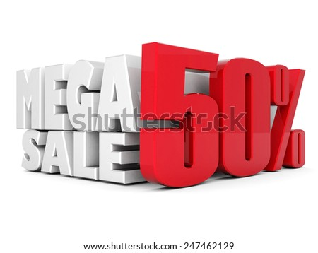 beautiful 3d silver text SALE