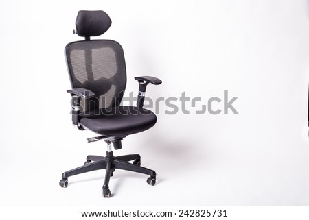 Beautiful design chair, Comfortable for work. - stock photo