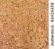 Beautiful detailed cork texture - stock photo