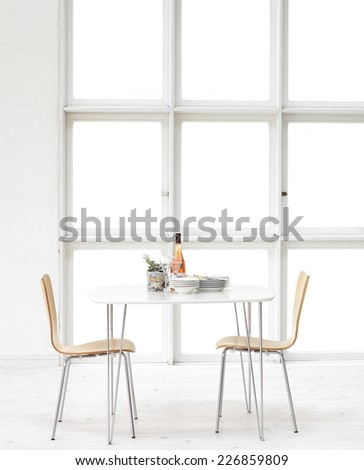 Beautiful Dining Room  - stock photo