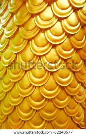 Beautiful dragon scales pattern - stock photo