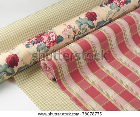 Beautiful fabric texture background - stock photo
