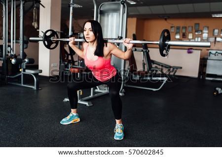 squat exercise stock images royaltyfree images  vectors