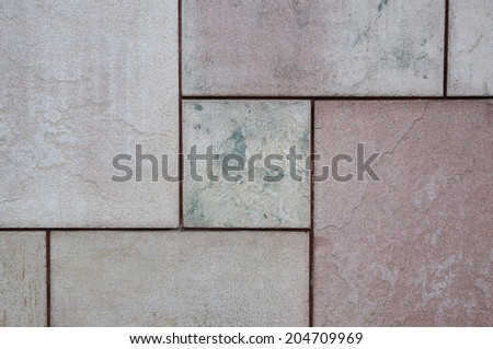 Beautiful flagstone pattern. - stock photo