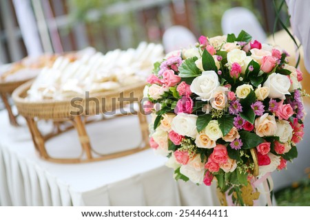 Beautiful flower wedding decorations