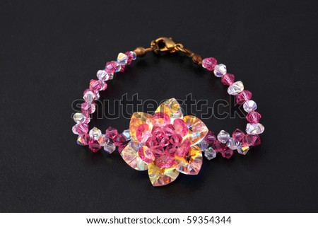 Beautiful gem - stock photo